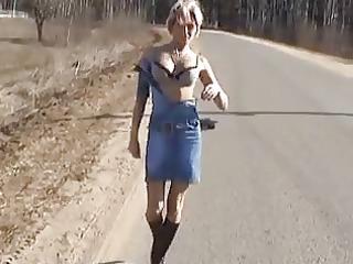 hawt blonde russian d like to fuck posing