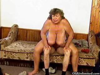 impure grandma with big billibongs riding part8