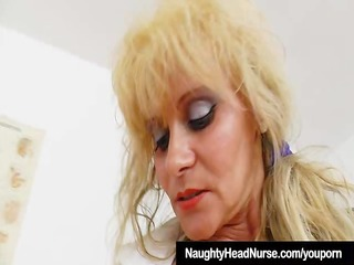 gyno-instrument in mommy nurse make water hole
