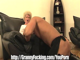 golden granny receives plowed