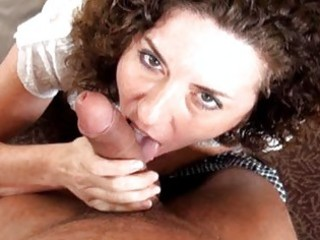aged housewife receives a wang in her