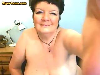 bbw granny getting wicked on webcam