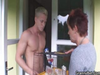 granny allows him to entice her