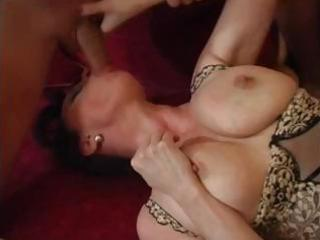 mature mommy male spunk fountain after orgasm by