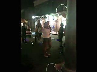 bourbon street latin milf flash