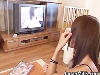 greatly excited japanese milfs sucking part2
