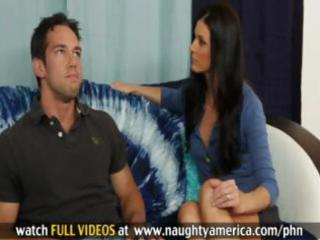 sexy brunette milf india summers takes his pecker