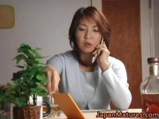 sexually excited japanese older hotties engulfing