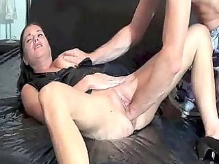 fisting the wife untill she gushes torrents of