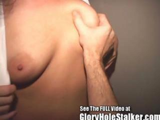 cheating wife drains strangers gloryhole knobs