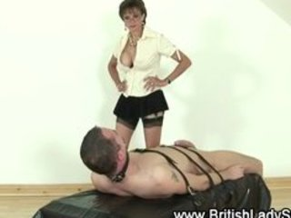 femdom older lady sonia gives cook jerking