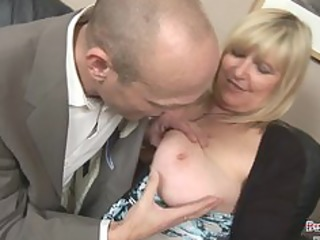 chauffeur fantasies of fucking large melons boss