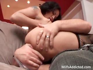 horny slut with amazing boobs rides part2
