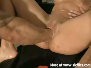 fist fucking the wifes monster snatch
