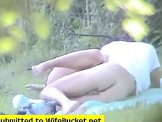 dilettante pair caught fucking in the park