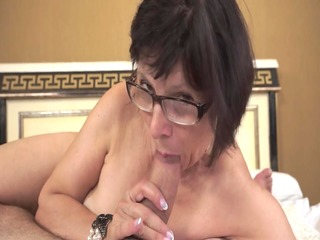 hot grandma likes juvenile schlongs