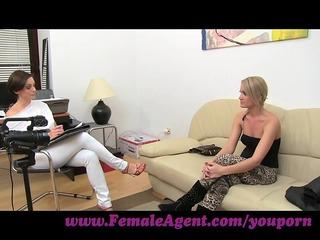 femaleagent. lets stroke together