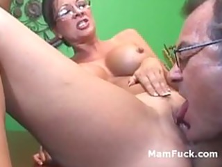 old kink teacher copulates pretty cougar and