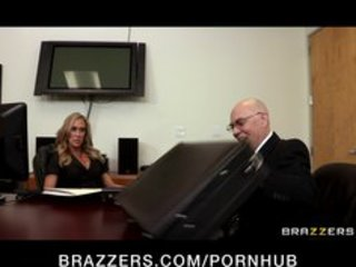 horny big-tit blonde mother i copulates employees