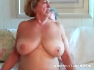 big boobed aged woman rides her spouse 11 wear