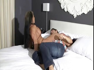 monica martin is a built maiden who dominates her
