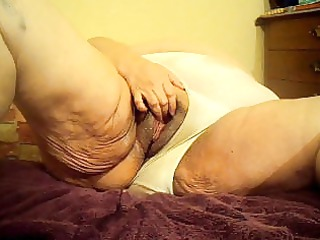 oiled pussy and panties