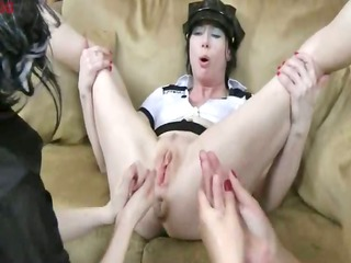 incredible hands in prolapsed anal opening