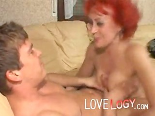 Red Granny, granny mature hardcore amateur
