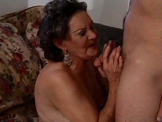 brunette hair granny wishes curly natural orgasms