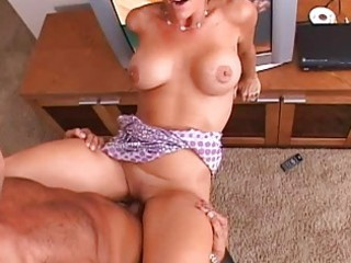 dark brown gorgeous mother i with large tits