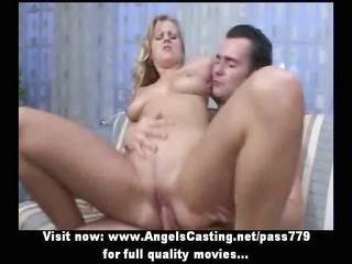 lovely diminutive golden-haired rides wang and