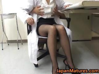 astonishing nurse is a sexy older beauty part8