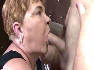 concupiscent grannies fuck at the bar