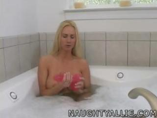 masturbate in my bathtub with me amateur wife