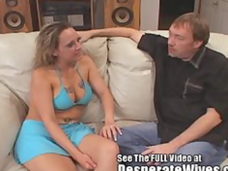 floozy wife donna eating hot cum loads