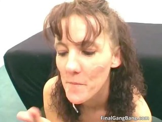 concupiscent naughty large butt dark brown milf