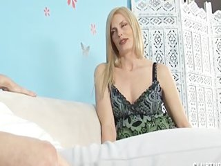 horny mother i jerks off her step-son