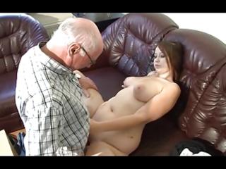 german grandad makes juvenile cutie horny