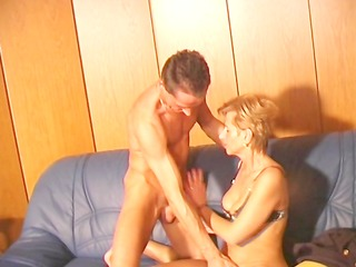 german milf acquires candles in her holes