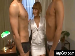 breasty japanese doesnt even receive exposed as