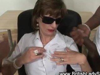 interracial mature lady sonia receives cumshots