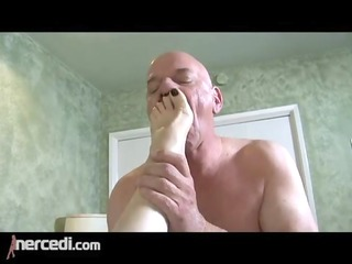latin older wife has her feet screwed large tits,