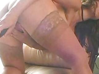 breasty older chloe with a dark dildo 2