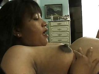 pregnant older asian drilled priceless