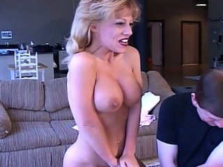 mega love melons milf drilled with sex toy