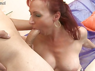 real mother fucking and sucking her juvenile