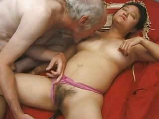 mature oriental playgirl banged hard