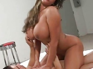 big tit milf double teamed