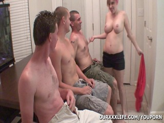 my wife receives group-fucked