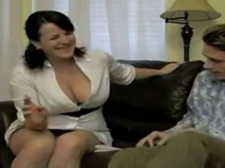 hot breasty smoking mommy bangs soninlaw